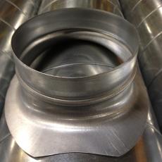 Sheet Metal Werks Spiral Duct Amp Spiral Fitting