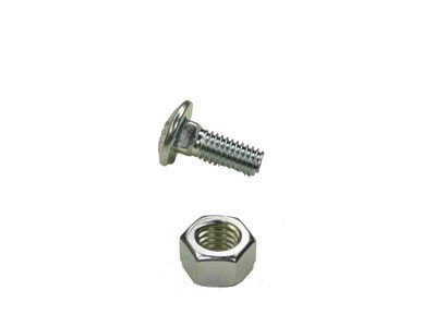 Carriage Bolts and Hex Nuts